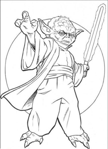 yoda star wars coloring pages free enjoy coloring