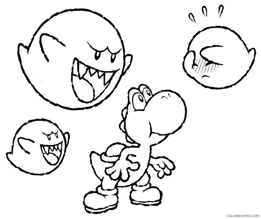 - Yoshi Coloring Pages Pictures - Whitesbelfast