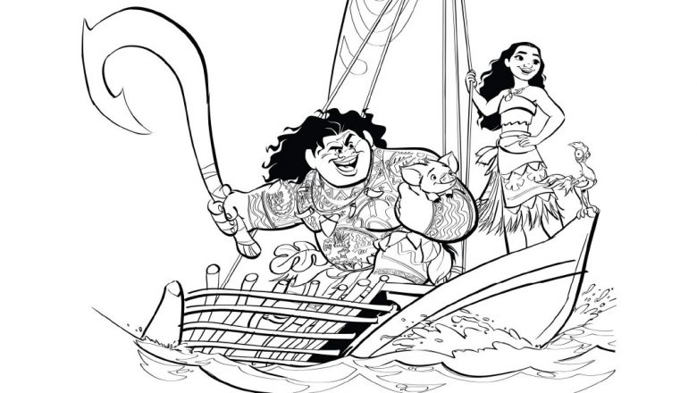 youll love these printable moana coloring pages d23