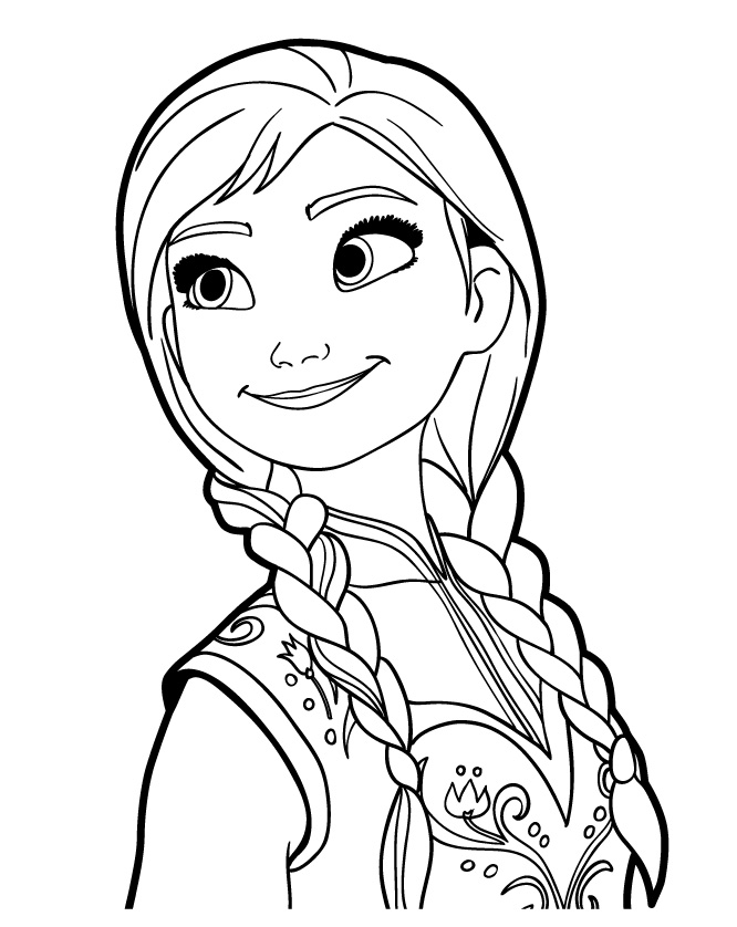 young anna frozen coloring pages disney frozen coloring