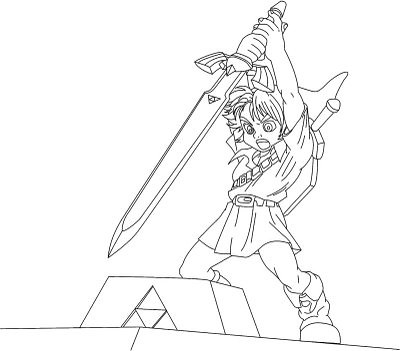 zelda coloring pages link 05 eclipseisil flickr