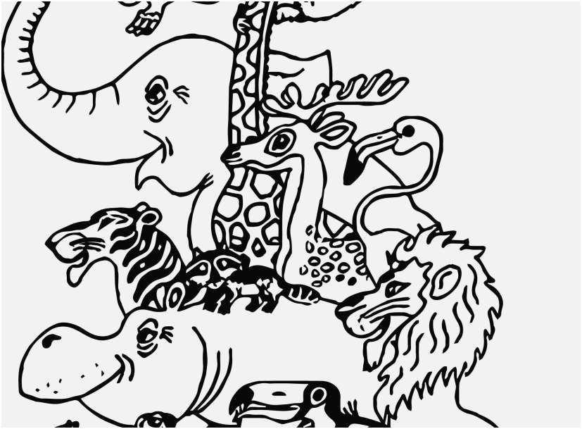 zoo animal coloring pages pic awesome coloring page animal