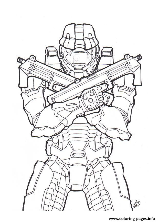 halo color coloring pages printable
