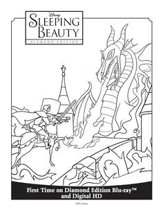 173 best sleeping beauty images disney coloring pages