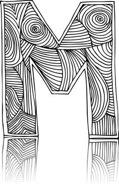 56 best alphabet coloring pages images alphabet coloring