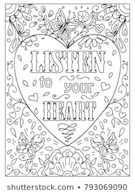 adult coloring pages images stock photos vectors