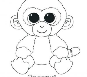 beanie boo coloring pages for your kids coloringfolder