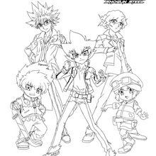 beyblade coloring pages ifrit coloring pages beyblade