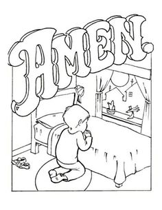 children coloring pages for church sunday school