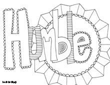 free printable coloring pages inspiring words believe