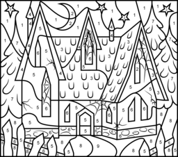 house coloring page printables apps for kids