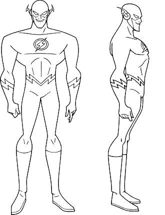 image result for flash coloring pages to print superhero