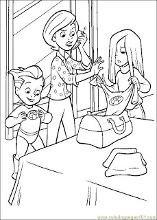 incredibles coloring pages free coloring pages