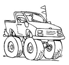 monster truck grave digger coloring pages coloring pages