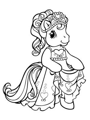 my little pony princess coloring page design magazine