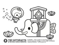 octonauts inkling pie coloring pages nurie kawaii