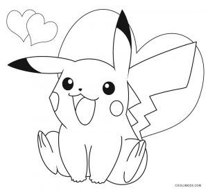pikachu coloring pages with images pikachu coloring
