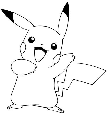 pikatsu vrityskuva pokemon coloring pikachu coloring