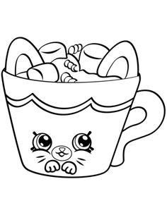 print cute shopkins for girls coloring pages all things