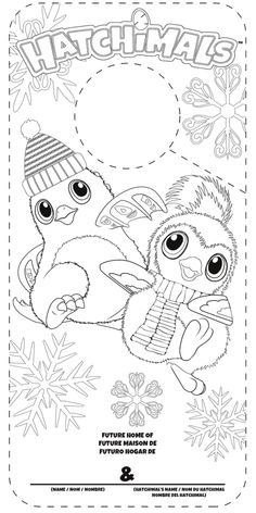 print hatchy hatchimals color coloring pages hatchimales
