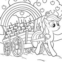 print rainbow dash little pony coloring pages my little