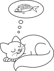 sleep cat coloring pages best coloring pages for kids