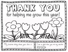 teacher appreciation coloring page thank you gift free