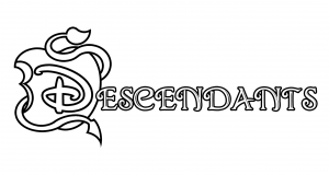 the descendants free printable coloring pages for kids