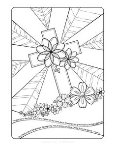 three crosses on calvary hill coloring page google