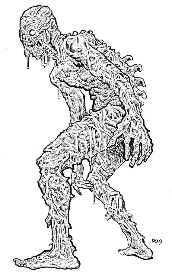Horror Coloring Pages Pictures - Whitesbelfast