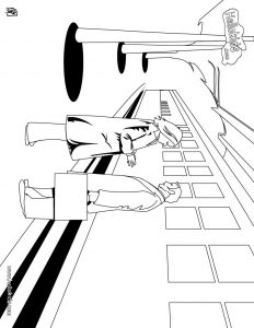 8 best train subway and railway coloring pages for kids