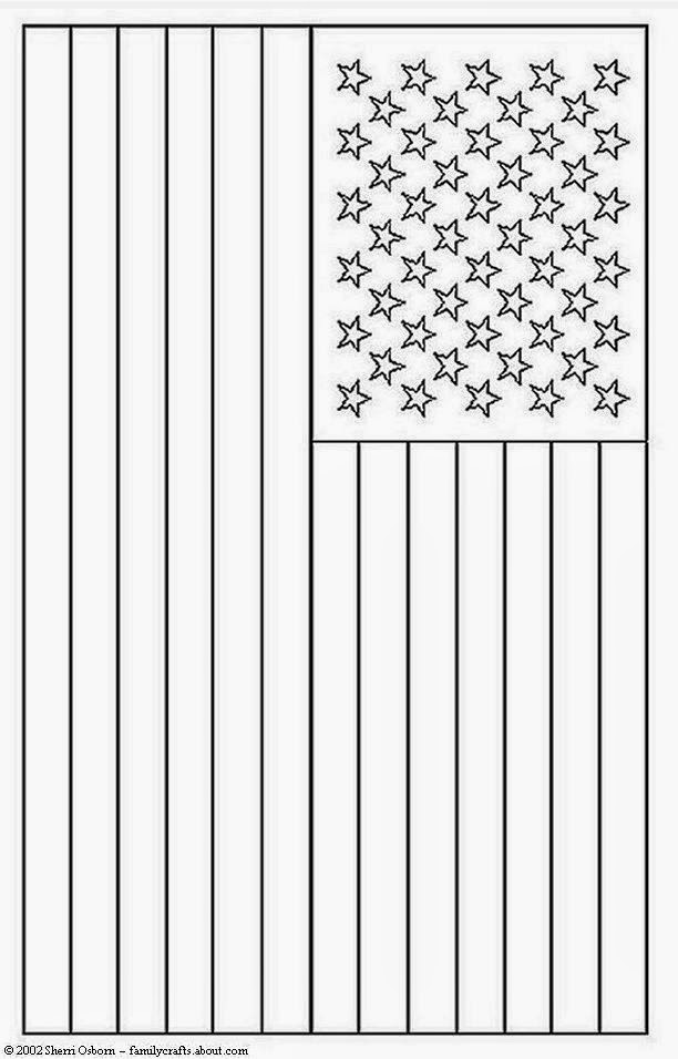 american flag coloring page for preschool fcp