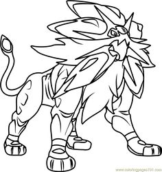 ash greninja pokemon sun and moon printable coloring page