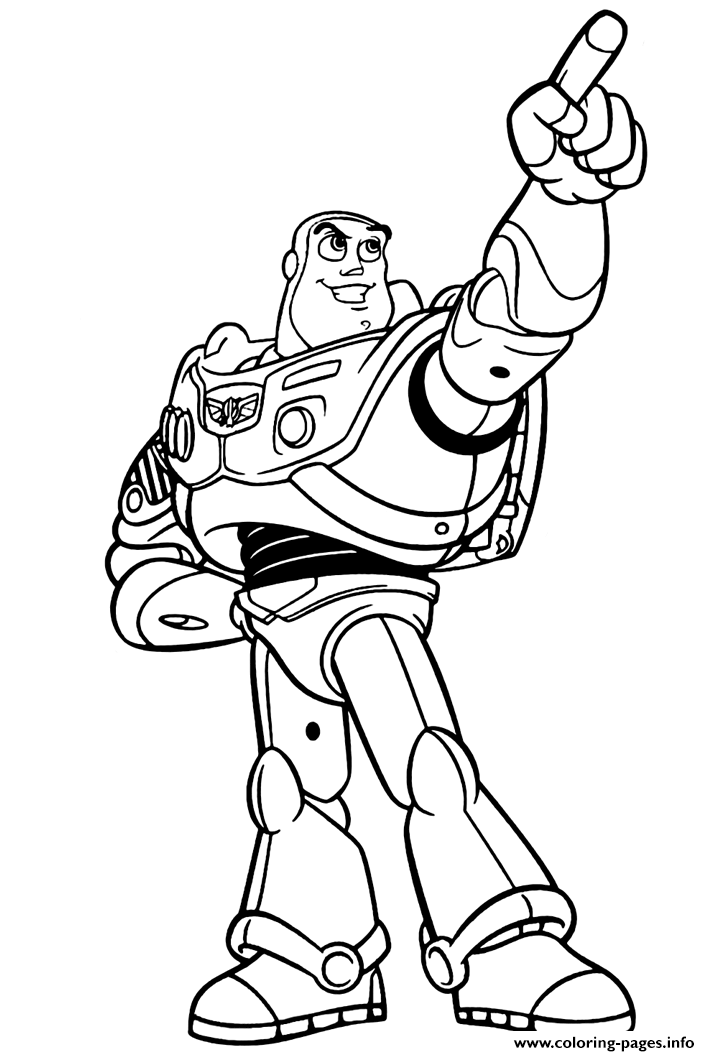 buzz lightyear champion like a star coloring pages printable