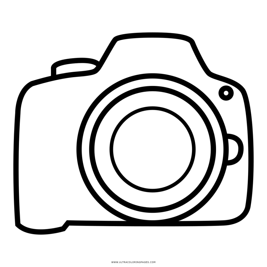 camera coloring pages at getdrawings free download