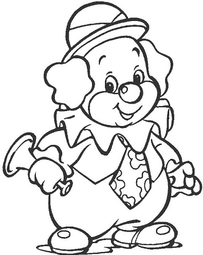 clown free coloring pages coloring pages