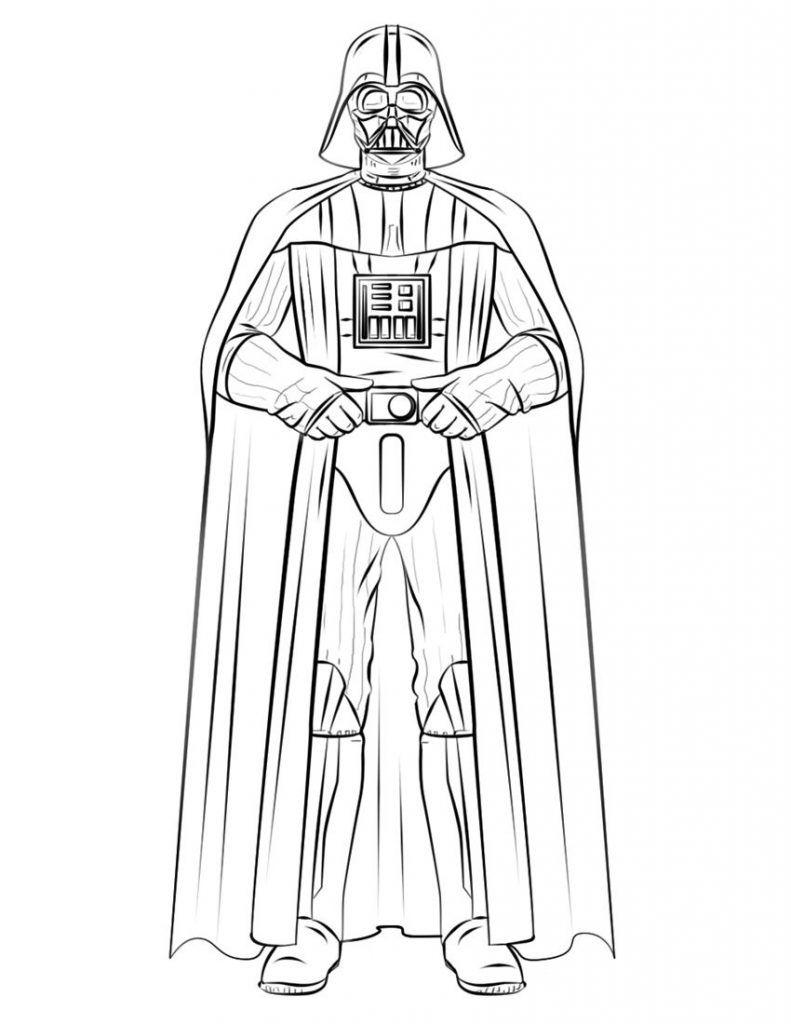 darth vader coloring pages star wars drawings star wars