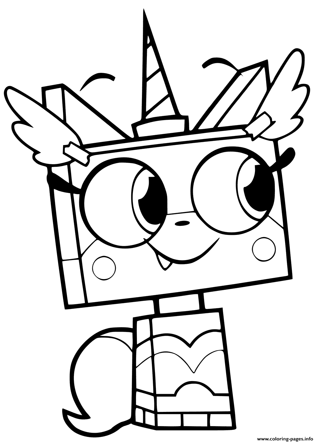 free unikitty coloring pages decoromah