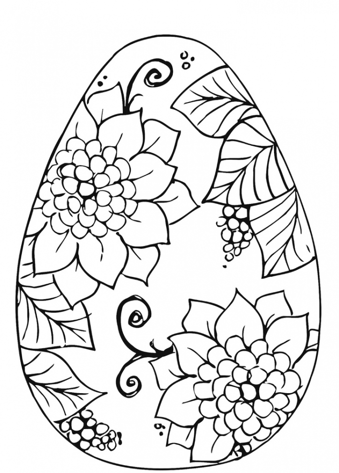 get this adults printable easter egg coloring pages 86904