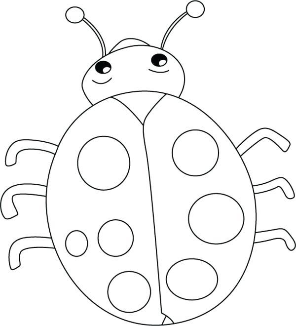 ladybug drawing for kids at getdrawings free download