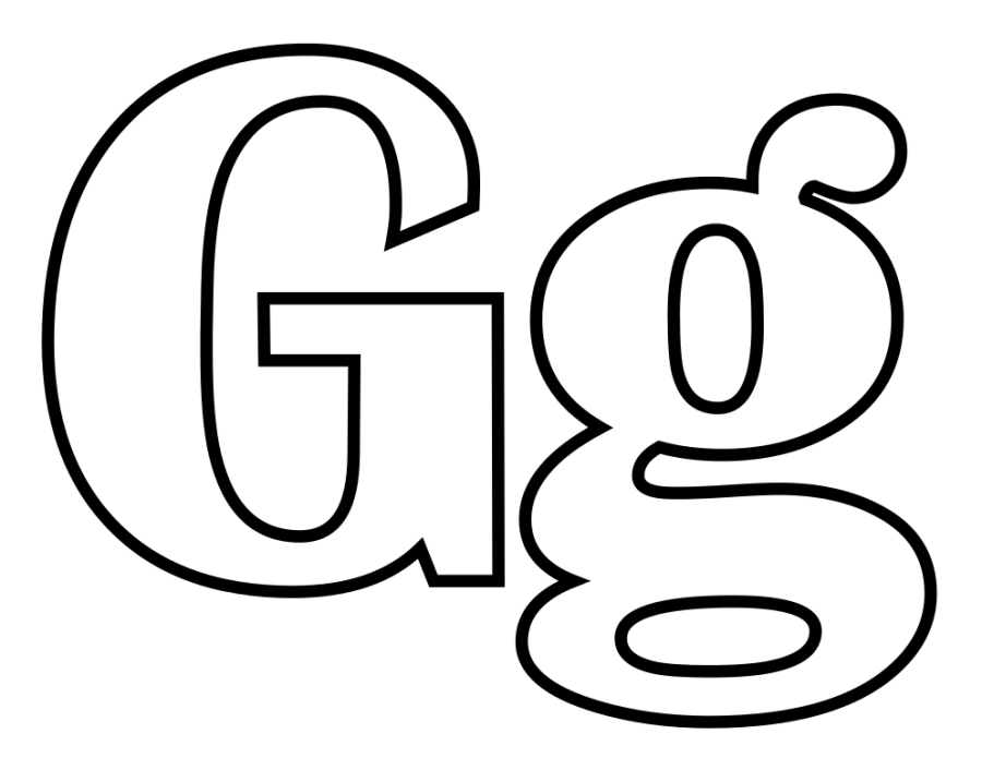 letter g coloring pages getcoloringpages