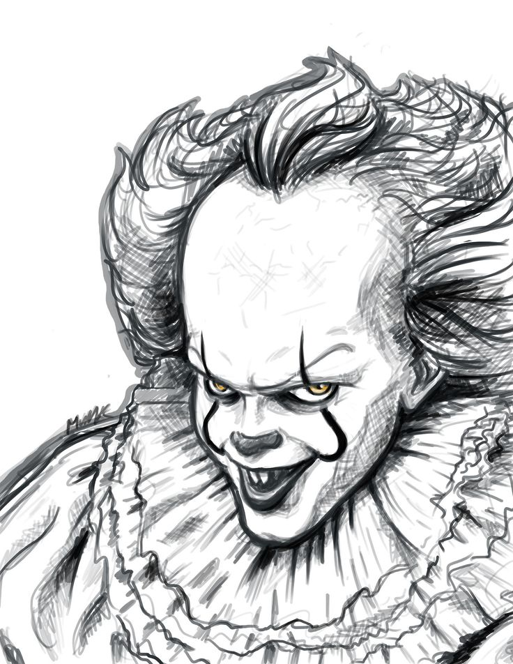 Pennywise Coloring Pages Pictures Whitesbelfast