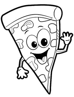 pizza coloring page coloring worksheets worksheets and