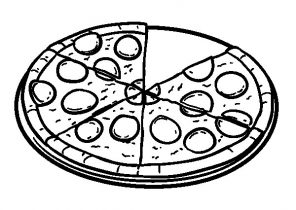 pizza coloring pages page 2 of 2 coloring4free