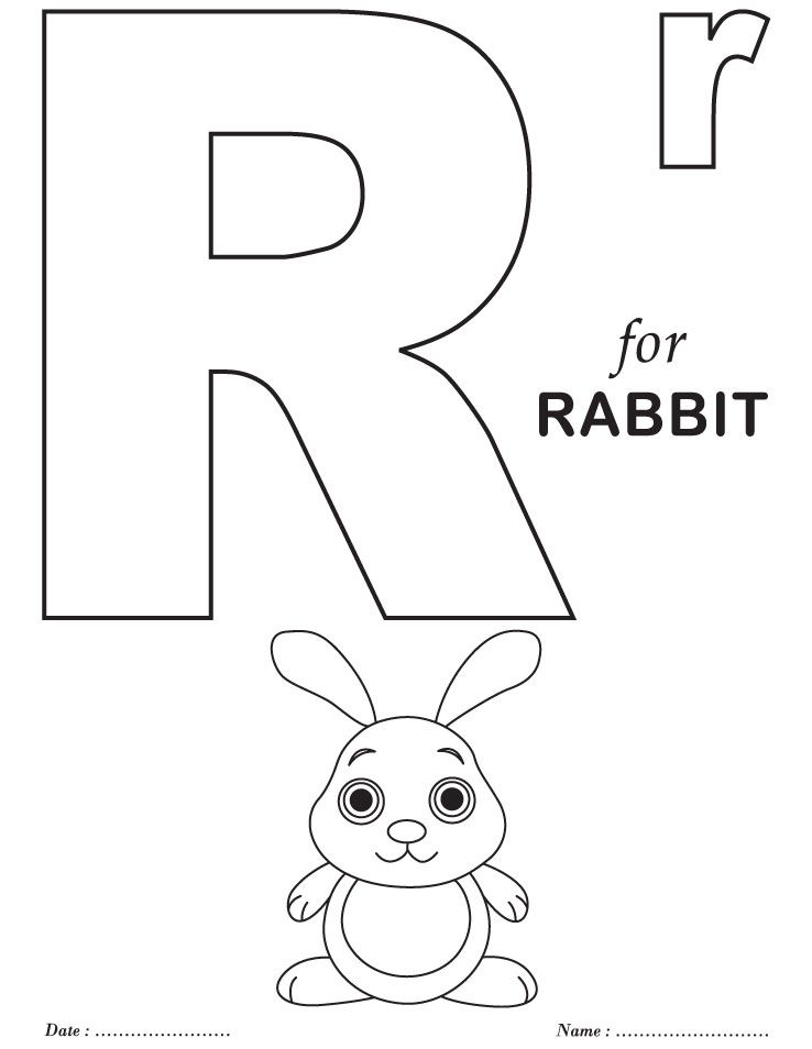 printables alphabet r coloring sheets alphabet coloring