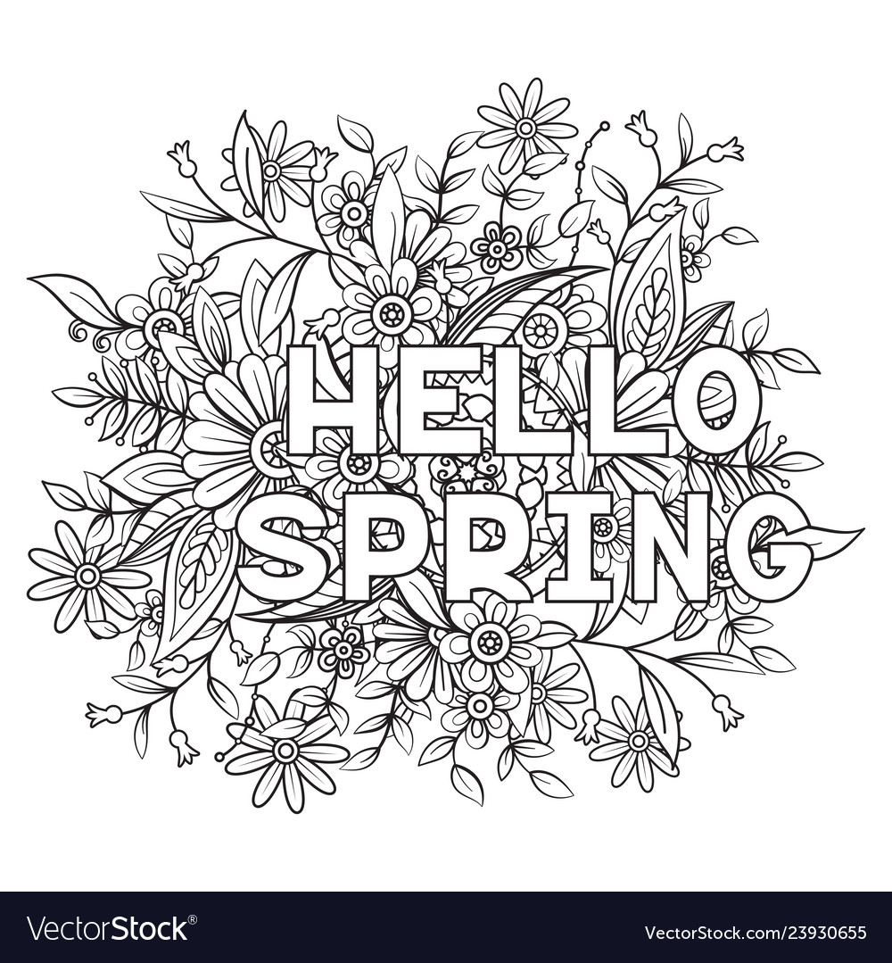 spring coloring sheets coloringnori coloring pages for