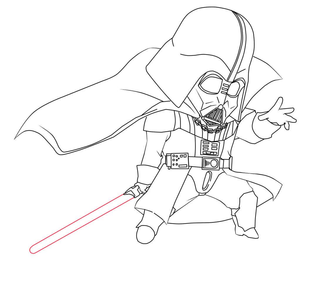 star wars darth vader drawing at getdrawings free download