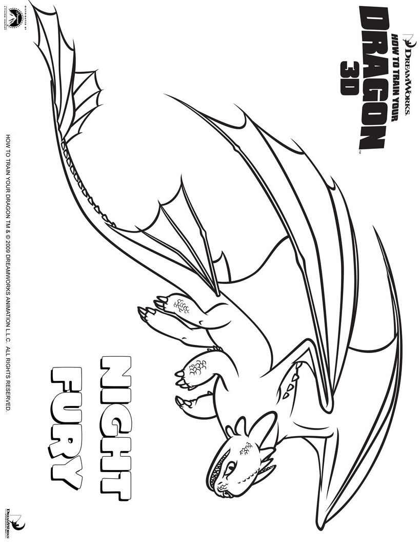 toothless outline dragon coloring page how train your