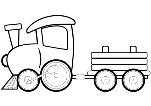 toy train coloring page free printable coloring pages