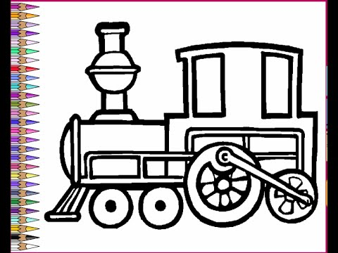 trains coloring pages for kids trains coloring pages